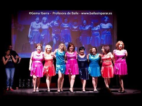Exhibición de baile a cargo del Grupo Baila Sin Parar para Anaa 21 06 2014