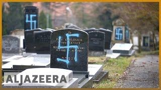 🇫🇷 Jewish cemetery desecrated as anti-Semitic attacks rise in France | Al Jazeera English - ALJAZEERAENGLISH
