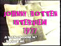 Johnny Rotten Interview 1977
