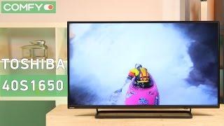Toshiba 40S1650EV - 40 дюймовый телевизор с Full HD разрешением - Видео демонстрация