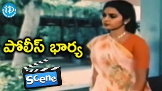 Police Bharya Movie Scenes - Seetha Fires On Naresh || Ahuthi Prasad || Raj-Koti - IDREAMMOVIES