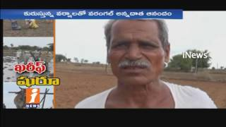 Rains Starts Early in Kharif season | Farmers Gearing Up for Cultivation in Telugu States | iNews - INEWS