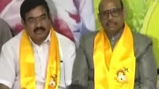 TG Venkatesh and Erasu Joined in TDP presence of CBN - TV5NEWSCHANNEL