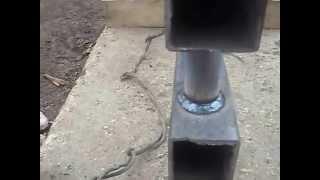 Самодельная батарея для отопления (регистр)
