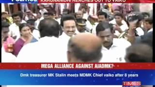 Mega alliance against AIADMK? - TIMESNOWONLINE