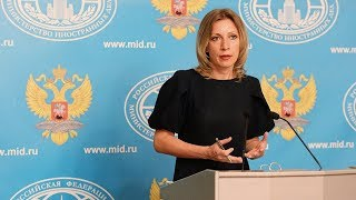 Russian FM spokesperson Zakharova holds weekly briefing - RUSSIATODAY