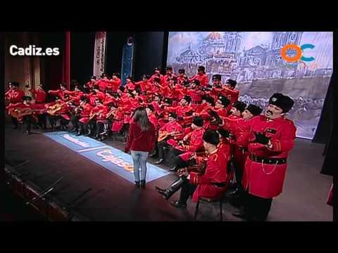 Sesión de Preliminares, la agrupación El ejercito rojo actúa hoy en la modalidad de Coros.