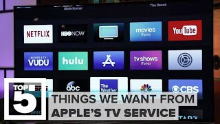 Apple's TV service: What we want to see - CNETTV