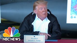 President Donald Trump: Nothing Will Be 'Left Undone' In Response To Florence Recovery | NBC News - NBCNEWS