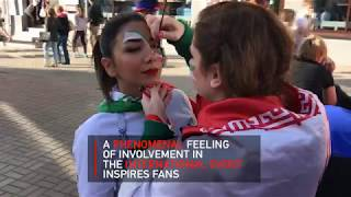 Singing & Dancing: Iranian fans bring special flavor to World Cup - RUSSIATODAY