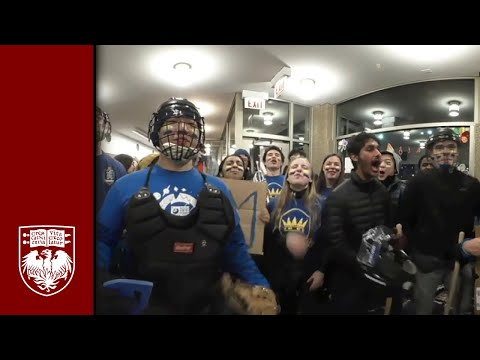 Chairman's Cup Broomball Game in 360°