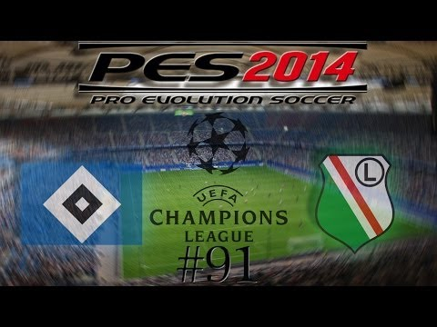 Let´s Play PES 2014 #91 Hamburger SV vs. Legia Warschau HD Bayrisch