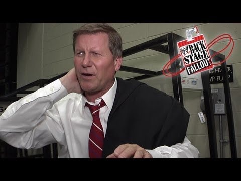 Backstage Fallout - Does Big Johnny smell what Rock is cooking? - SmackDown - March 29, 2013