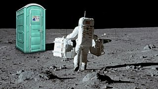 Is There Poop on the Moon?