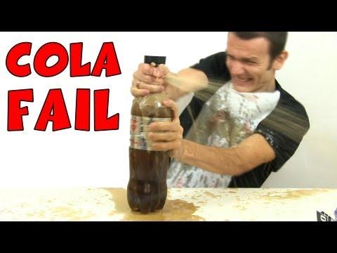 COLA FAIL - Pomiar ciśnienia w BOMBIE mentosowej