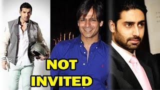 Bollywood Stars who were not invited by Salman Khan! - EXCLUSIVE - ZOOMDEKHO