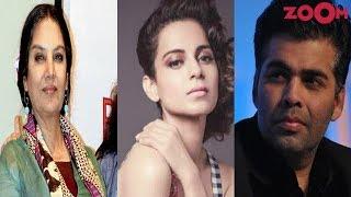 Kangana Ranaut CONDEMNS Karan Johar & Shabana Azmi's silence over #MeToo Wave! | Bollywood News - ZOOMDEKHO