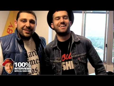 A-Trak at Power 106 with Dj Reflex and VickOne (Interview)
