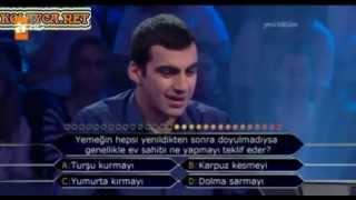 Kim Milyoner Olmak ister 197. Bölüm Menteş Zorba ilk Soruda Elenen Yarışmacı 27.03.2013