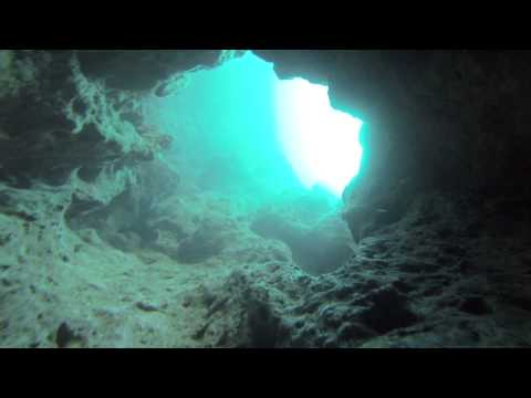 Comino Cave (St. Maria caves) Malta with Gozo Technical Diving