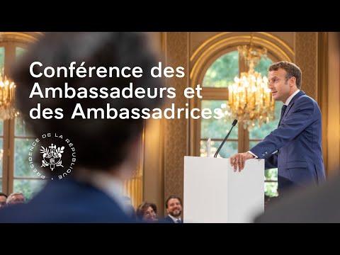 Выступление Эммануэля Макрона на совещании французских послов 27.08.2019