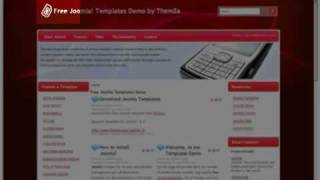'Mobile Solutions' free Joomla 1.5 template (Video Tutorial) view on youtube.com tube online.