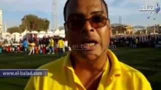 بالفيديو.. معسكر كشفي خلال الاحتفال بيوم اليتيم في الغردقة