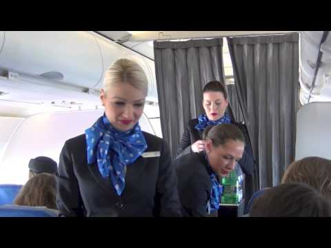 Air Serbia inaugural flight BEG - BNX - BEG (HD)