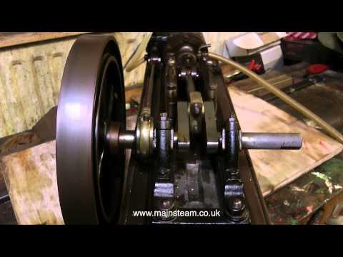 PART #1 - RENOVATING A VINTAGE WORKSHOP TYPE STEAM ENGINE