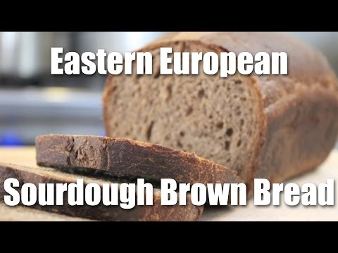 How to Make European Style Brown Bread Using a Sourdough Starter | Recipe