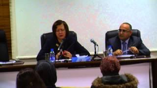 سفيرة الاتحاد الاوروبي الدكتورة جوانا فيرونيكا تحاضر في معهد الإعلام الأردني