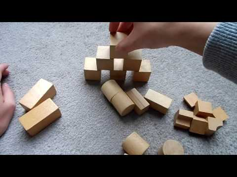 ASMR. Dutch Whispering & sounds of Wooden Blocks