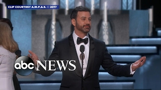 Oscars host Jimmy Kimmel's funniest moments - ABCNEWS