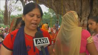 16 Aug, 2018: Hundreds of Hindu devotees throng annual monsoon fair in northern India - ANIINDIAFILE