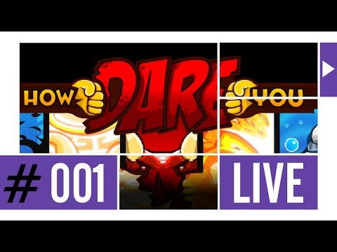 HOW DARE YOU ᴴᴰ #001 ►Flash-Game-Action◄ Twitch TV Broadcast 10.04.2014 ⁞HD⁞ ⁞Deutsch⁞
