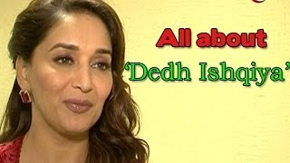 Dedh Ishqiya : Madhuri Dixit on a promotional spree for the movie