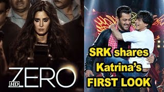 "Katrina's Intense FIRST LOOK from ""ZERO"", SRK shares it on her B'day - IANSINDIA"