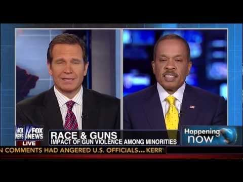 Juan Williams: Race Ought To Be Inescapable Part of Gun Debate