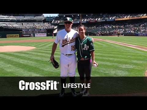 CrossFit Day with the Oakland A