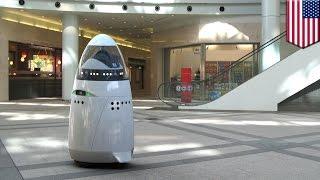 الشرطي الليلي: روبوت حارس متطور ذو 5 أقدام في وادي السيليكون!