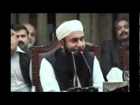 Maulana Tariq Jameel at Punjab University on 10-03-2011 5/8