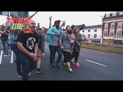 "Action Bronson's ""Adventure Time In England"""
