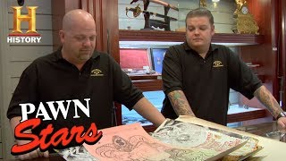 Pawn Stars: 1960s San Francisco Rock Concert Posters (Season 4) | History - HISTORYCHANNEL