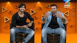 #KrazyMorningZ with #ManasunaManasai fame Rockstar Krish .. Watch show daily at 8 AM - MAAMUSIC