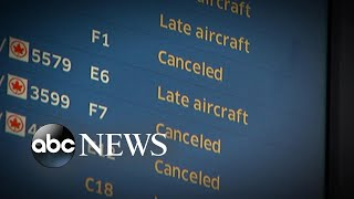 Dangerous winter storm wreaks havoc on air travel - ABCNEWS