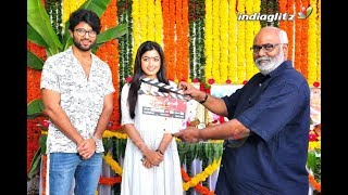 Vijay Deverakonda-Mythri Movie Makers' DEAR COMRADE Movie Launch | Rashmika Mandanna | #DearComrade - IGTELUGU