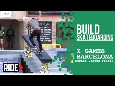 X Games Barcelona 2013 -- Nyjah Huston Wins Street League Final!