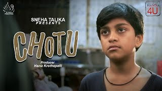 chotu - new telugu short film II Sneha Talika presents II A film by Raj Virat - YOUTUBE