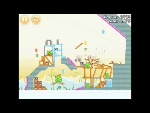 Angry Birds Danger Above 8-15 Walkthrough 3 Star