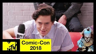 Geeks or Posers? ft. the Cast of 'Riverdale', 'Shazam!', 'Glass' & More! | Comic-Con 2018 | MTV - MTV